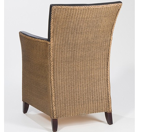 Lloyd Loom Chair Jason Rückansicht