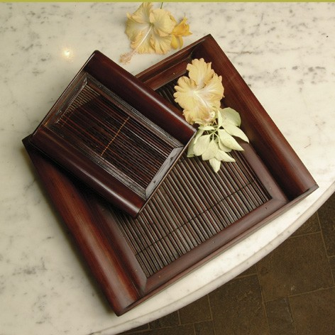 Bambus-Tablett Pansea gross