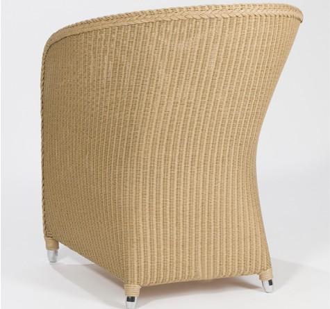 Loom Chair Vesuvio mit fliessender Rückenpartie