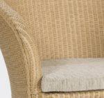 Loom Chair Vesuvio doppelwandig geflochten mit Polster