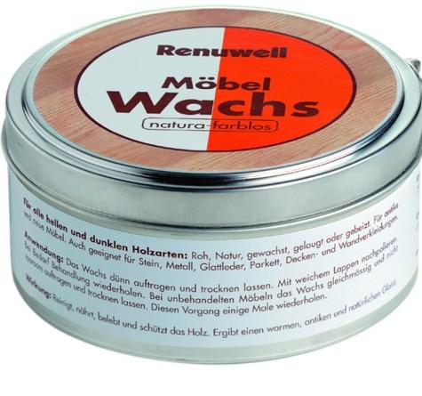 Renuwell Möbel Wachs - Balsam für Ihre Möbel!